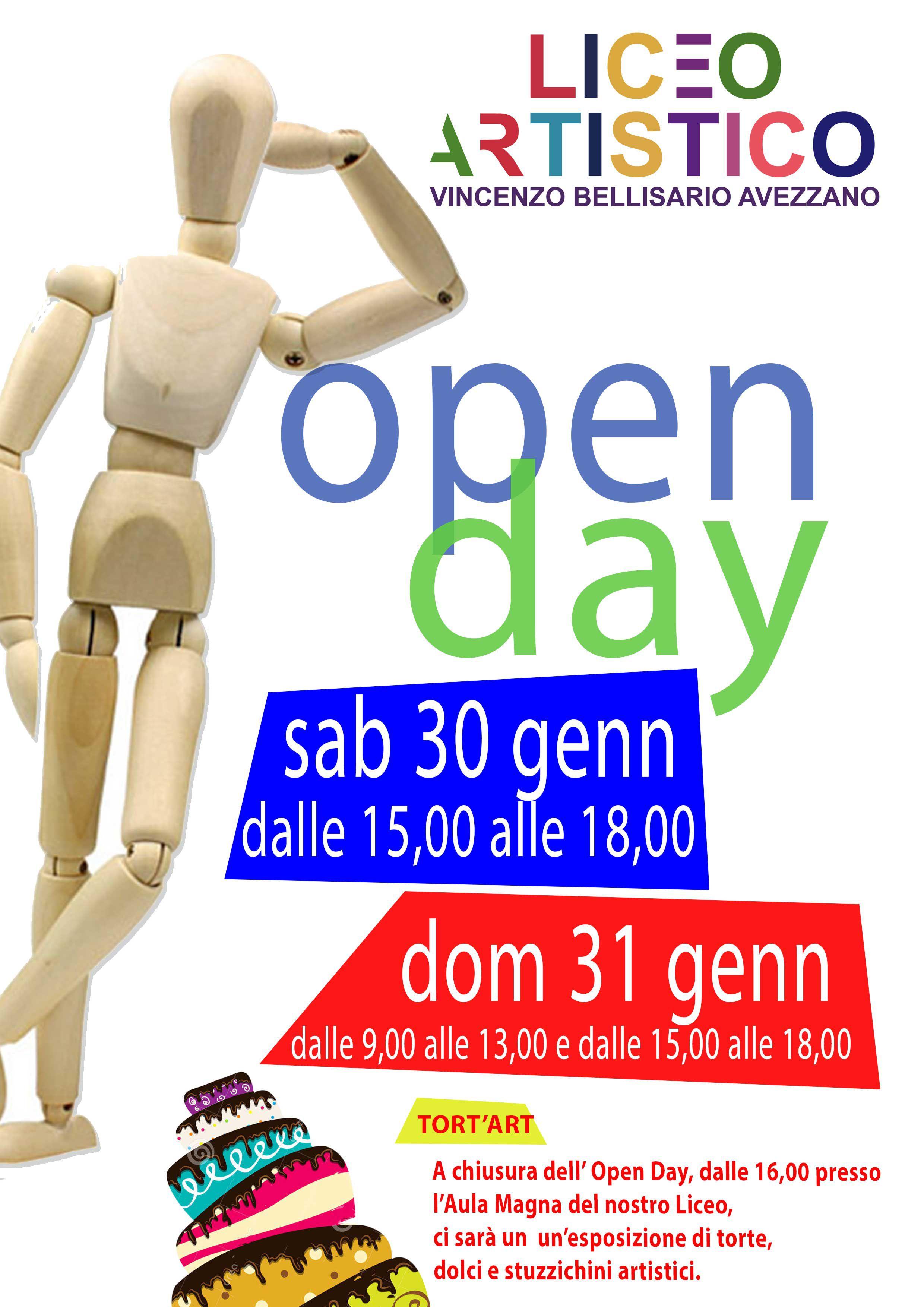 Open Day, due giornate con i ragazzi del Liceo Artistico