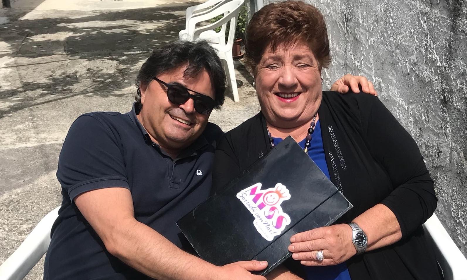 """Lidia Macerola è la super nonna eletta da """"Miss sorridi con noi"""""""