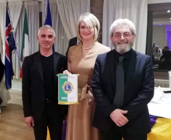 Il Lions Club di Avezzano ha dato l'avvio ai festeggiamenti Natalizi invitando a cena tutti i suoi membri e associati