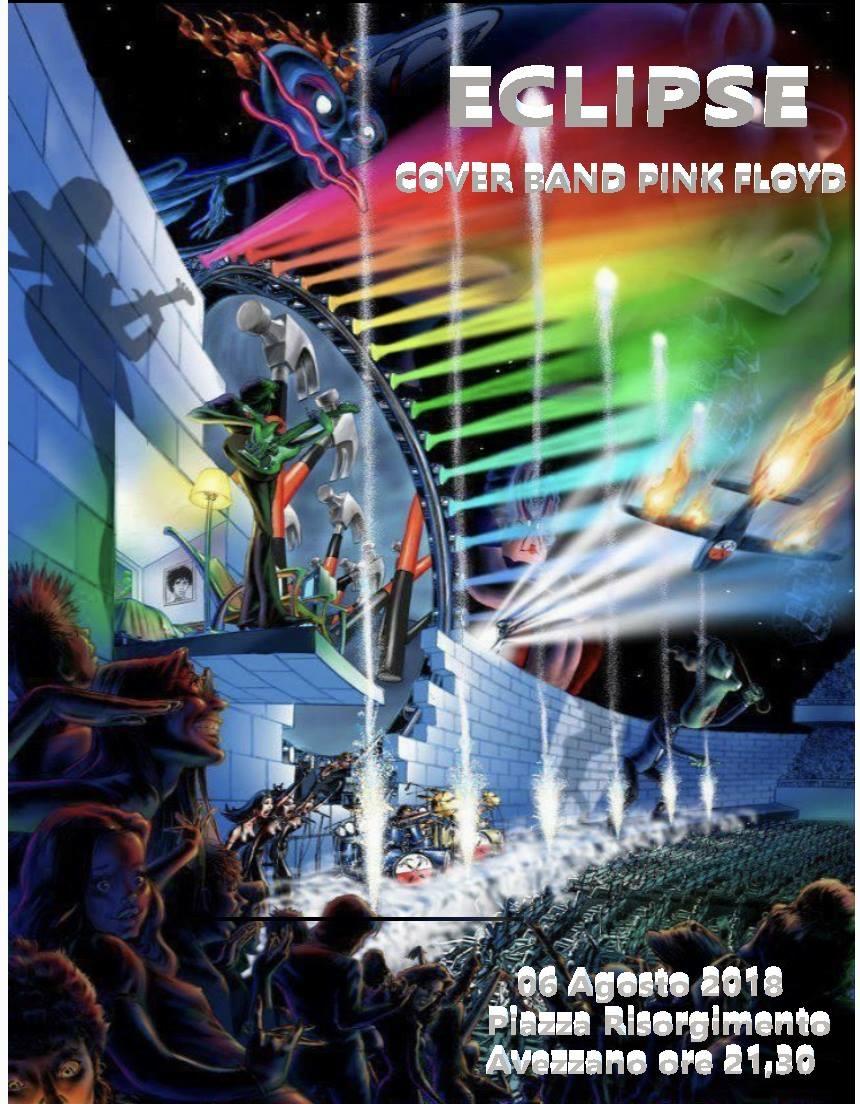 Cover band dei Pink Floyd in concerto ad Avezzano