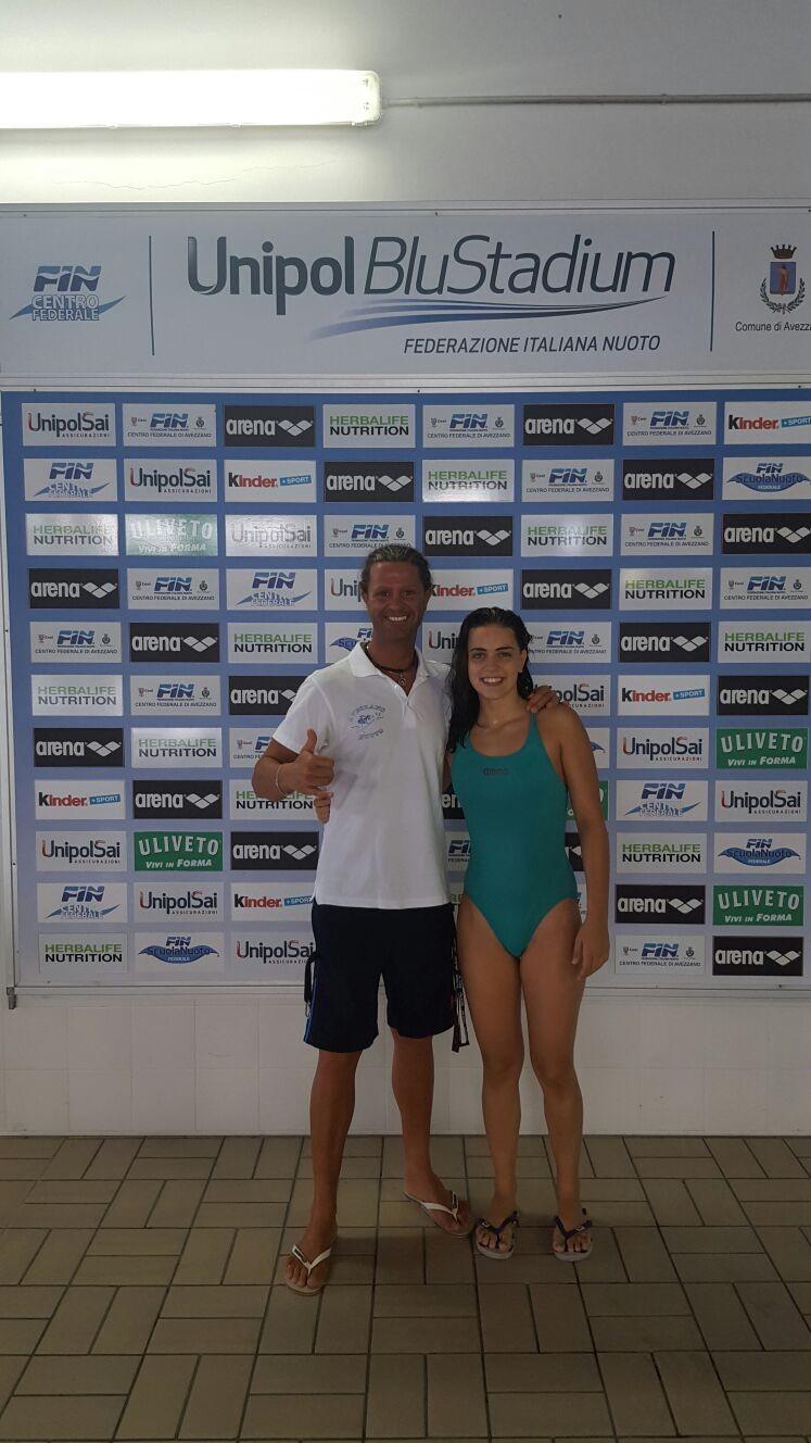 Avezzano nuoto, due atleti a Roma per i campionati di categoria