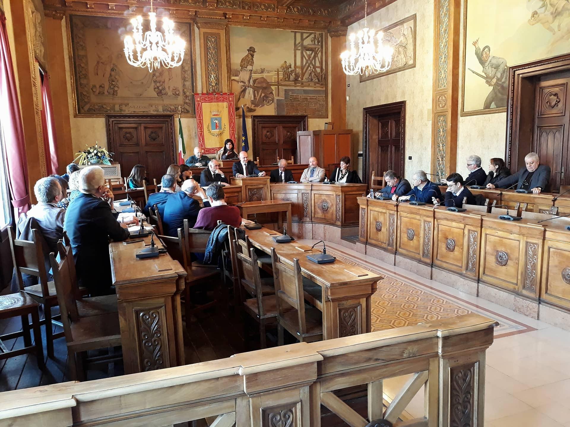 La nuova maggioranza consiliare incontra assessori e dirigenti comunali