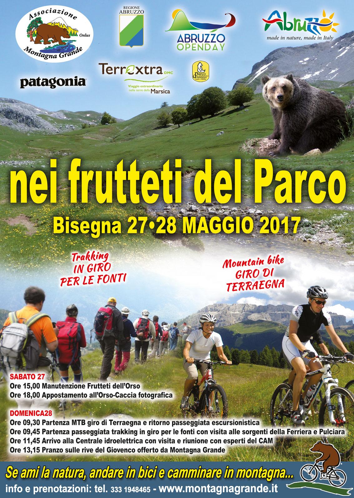 Weekend tra trekking e passeggiate in bici nella Valle del Giovenco. Leggi il programma