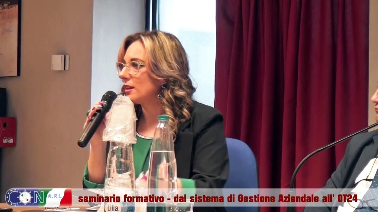 Il Conapi L'Aquila a Napoli per parlare del sistema di gestione aziendale tra OT24, modello 231 e nuovo decreto privacy