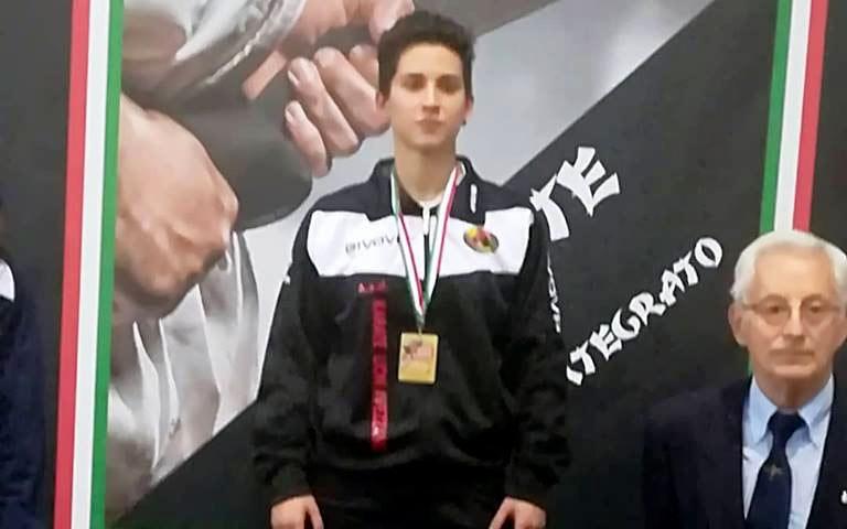 L'atleta Michela Paris vince il campionato nazionale Csen in provincia di Parma