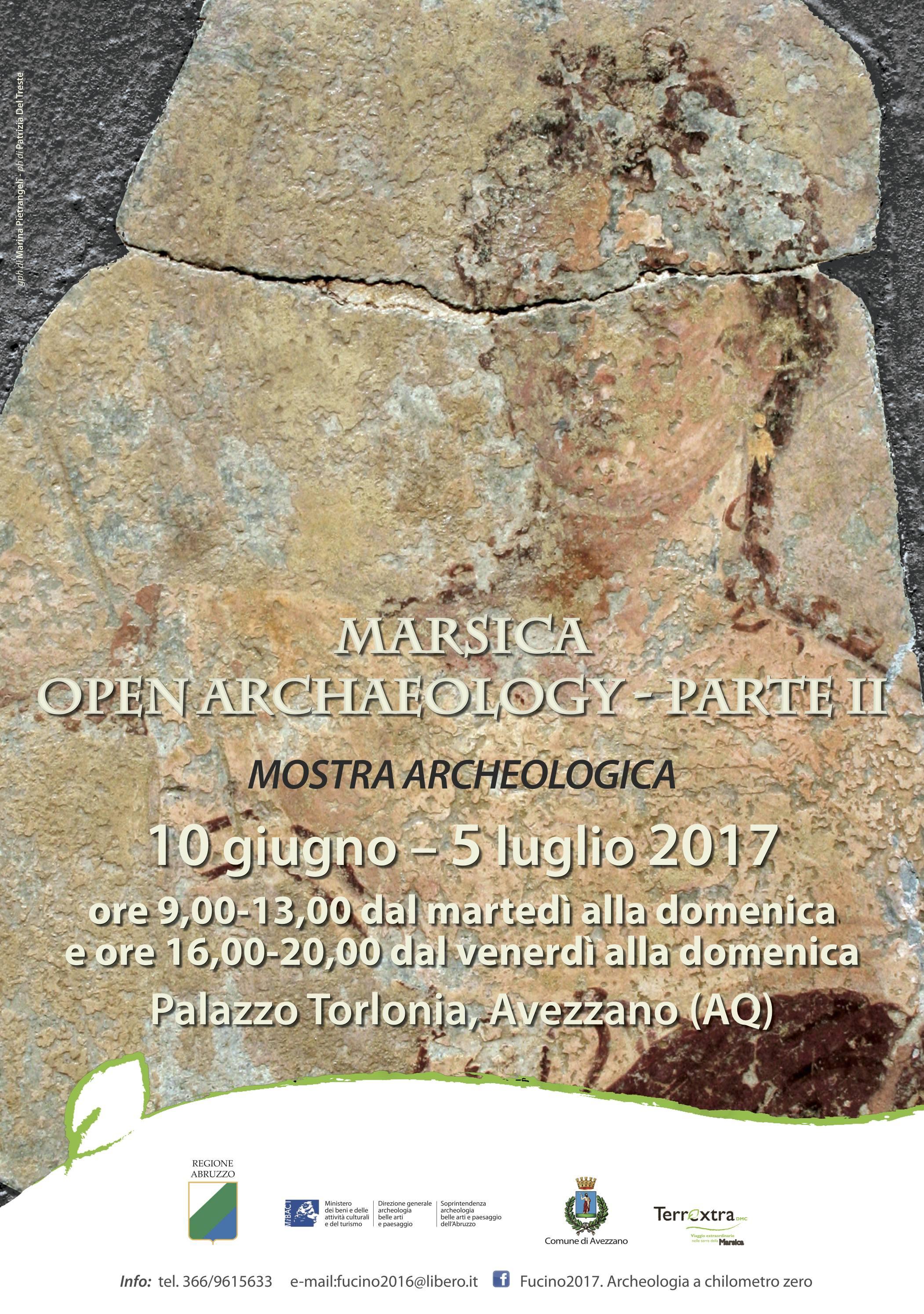"Prorogata la mostra ""Marsica. Open Archaeology - Parte II"""