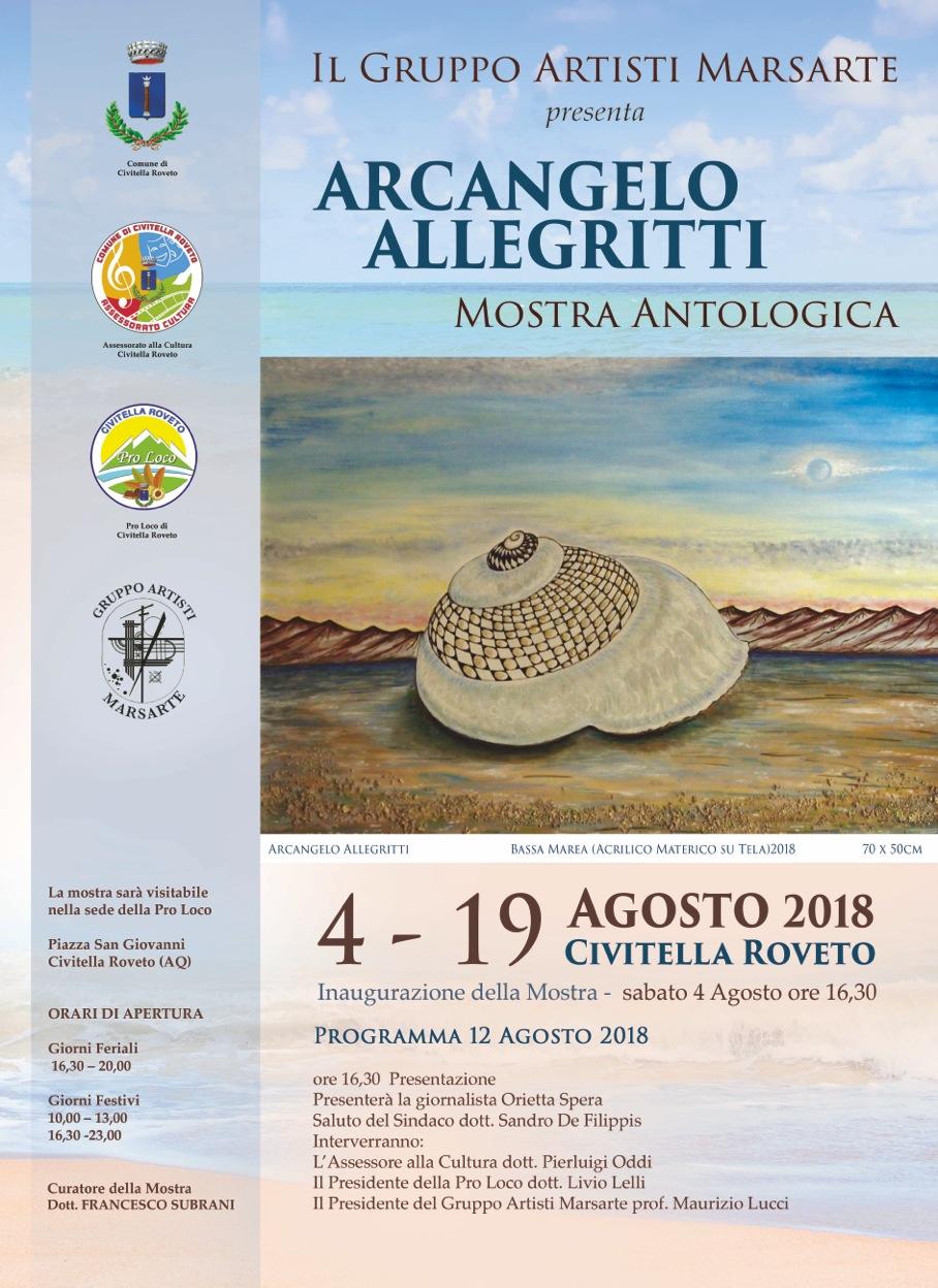 """A Civitella Roveto l'artista Arcangelo Allegritti espone a """"Marsarte"""""""