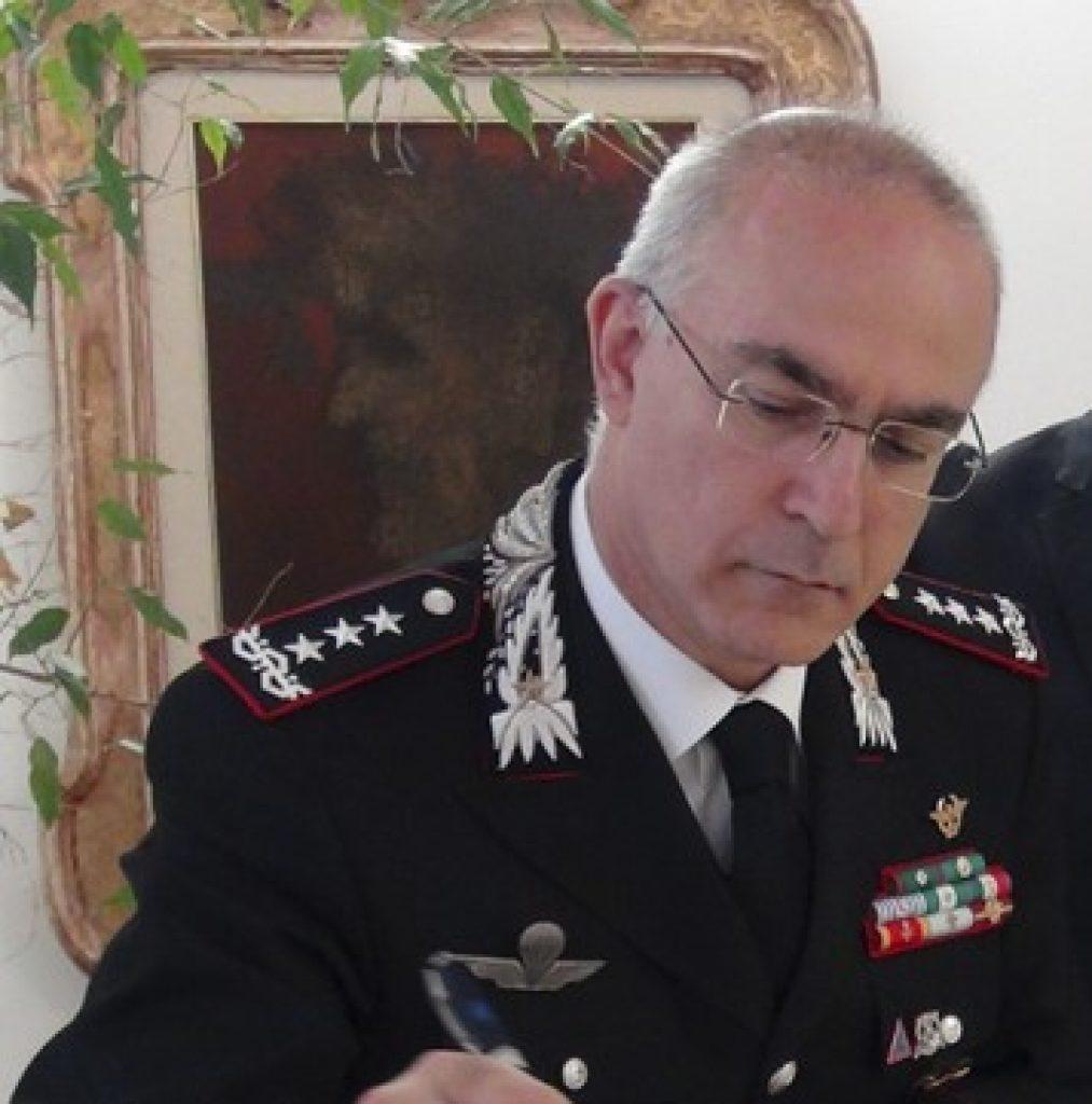 """Il Comandante Interregionale """"Ogaden"""" in visita ai Carabinieri di Avezzano"""