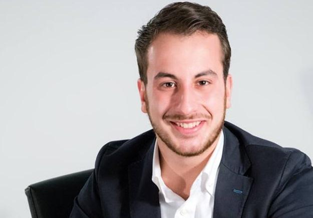 Omar Favoriti, imprenditore 26enne al timone dell'Asd Angizia