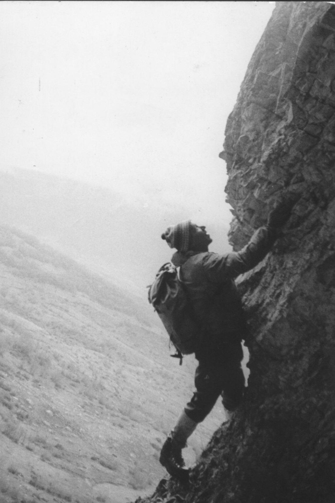 Una via per l'alpinista abruzzese Gigi Panei