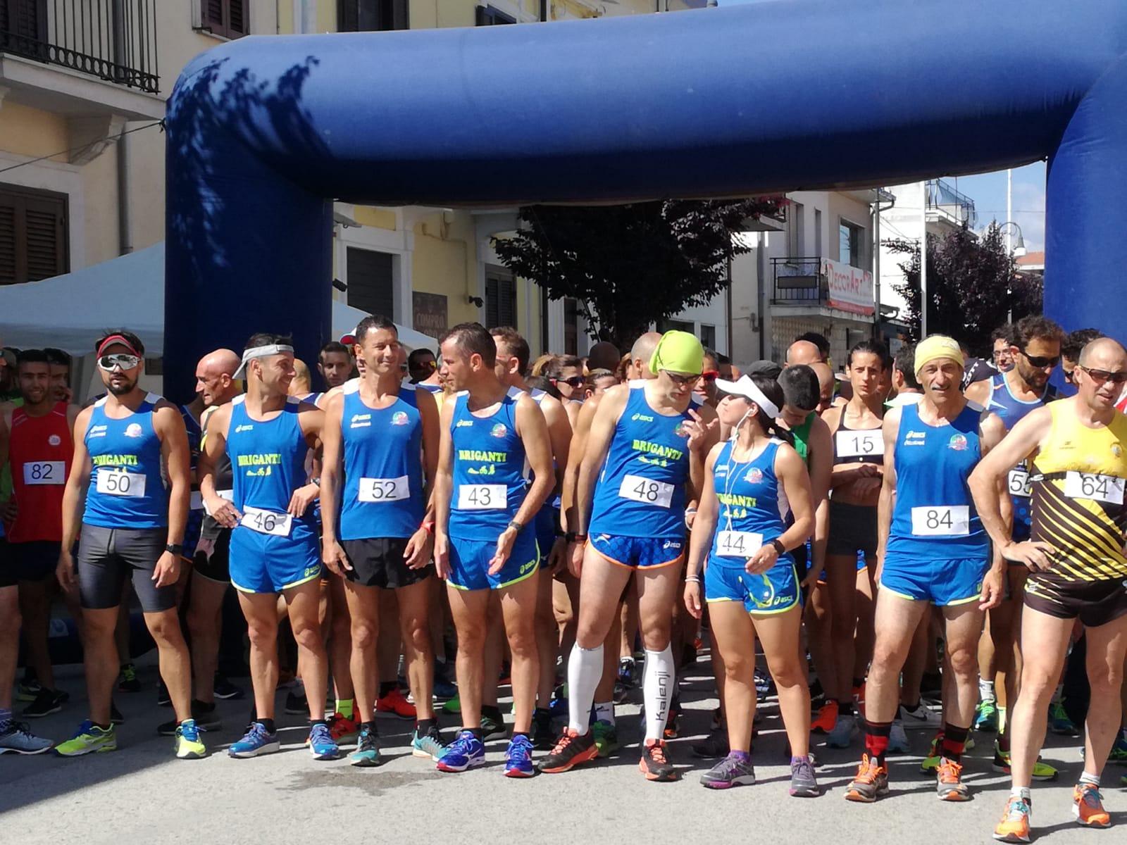Successo della Corrimarruvium,110 atleti si sono sfidati sulle strade dell'antica Marruvium