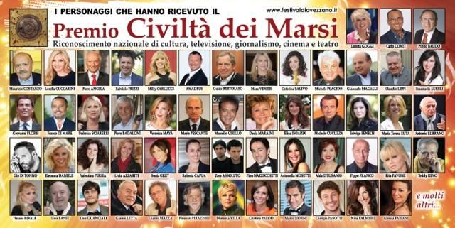 Si alza il sipario sulla 23esima edizione del Festival Città di Avezzano - Premio Civiltà dei Marsi