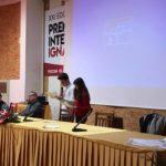La Prof.ssa Libertini dell'Universita' di Ruzomberok incontra i ragazzi dell'Istituto Fontamara per raccontare Silone