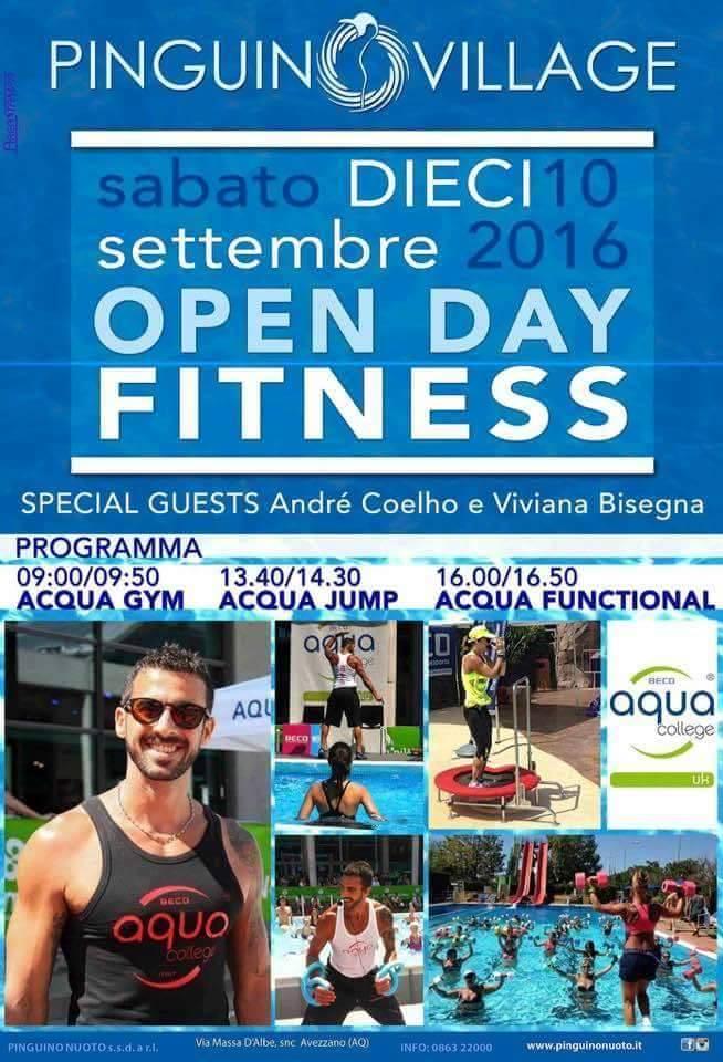 Open Day AcquaFitness 2016