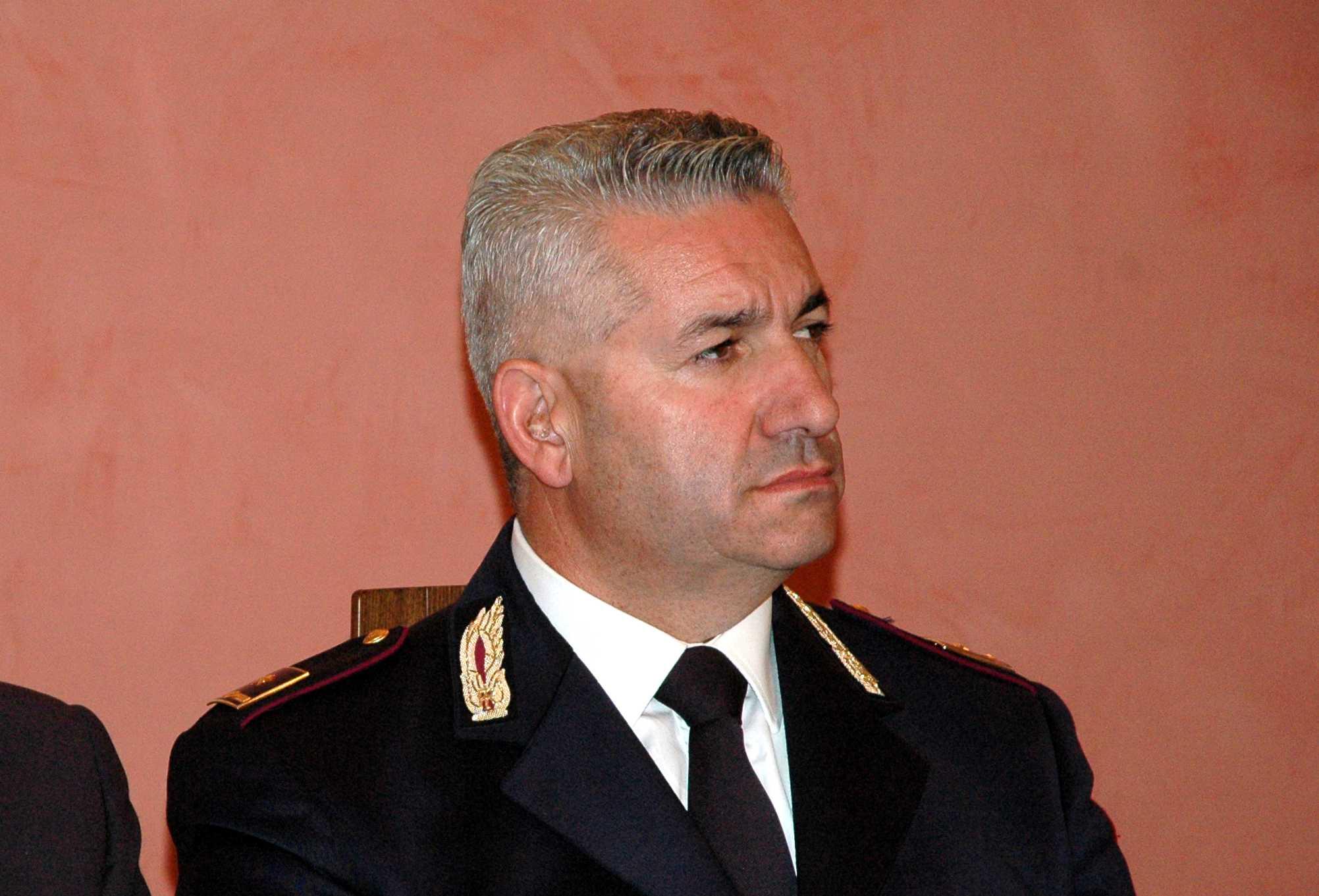 """Con quarant'anni di servizio va in pensione il comandante Pisotta. """"E' stato un onore indossare la mia divisa"""""""