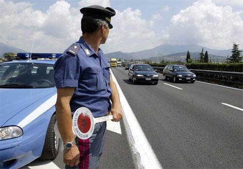 Un anno con la Polizia Stradale in Abruzzo