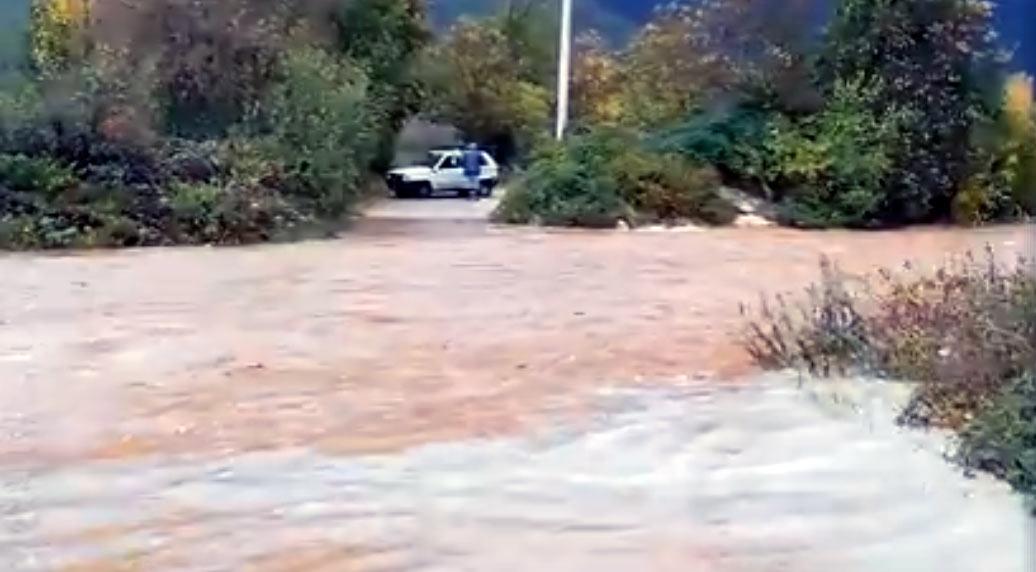 Allerta rossa in Marsica per rischio idraulico, scuole chiuse in cinque comuni (video)