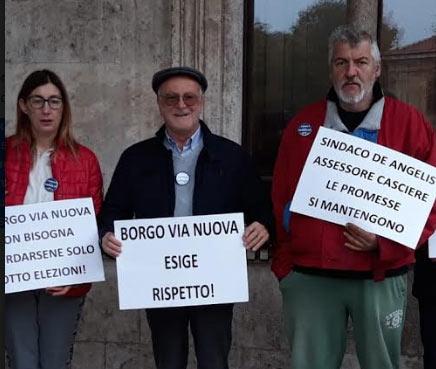 Il Popolo della Famiglia vicino ai cittadini di Borgo Via Nuova per la mancata ricostruzione dell'antico forno distrutto