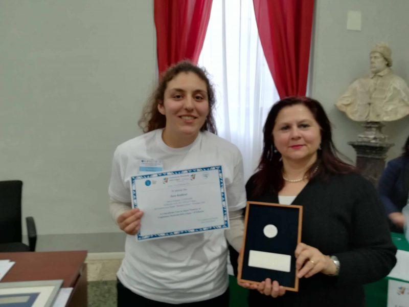 Campionato di Lingue: studentessa avezzanese arriva terza