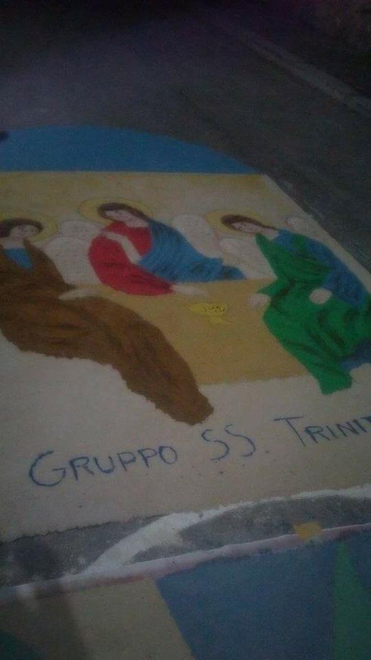 Atti vandalici all'infiorata di Ortucchio, i genitori dei responsabili si scusano e raccolgono il plauso del sacerdote e della comunità