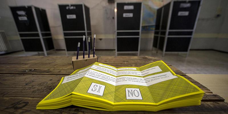 Referendum, procedure per il voto a domicilio degli aventi diritto