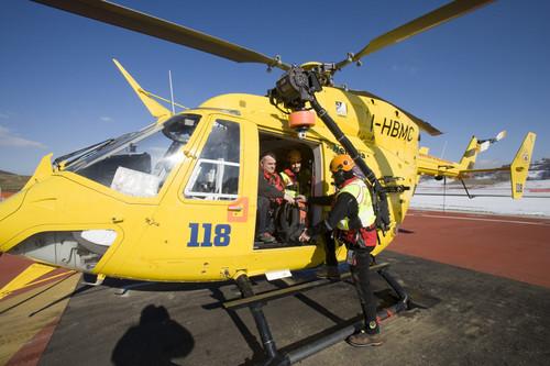 Gran Sasso, escursionista irlandese recuperata dall'elisoccorso del 118
