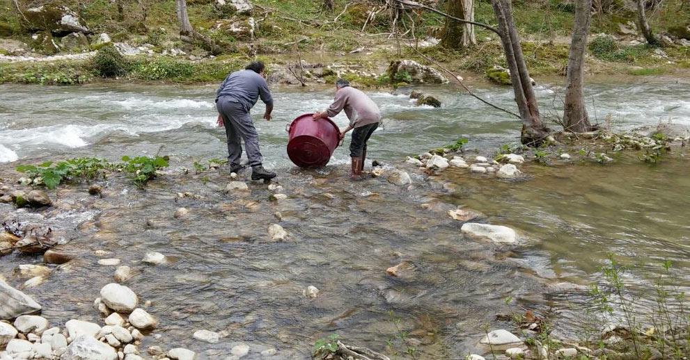 Il ripopolamento dei fiumi abruzzesi partirà dall'Aquila Berardinetti e Pepe: lavoro eccellente in favore dei tanti pescatori della provincia