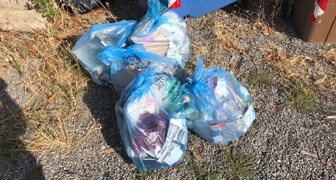 Negoziante di Avezzano abbandona rifiuti, denunciato