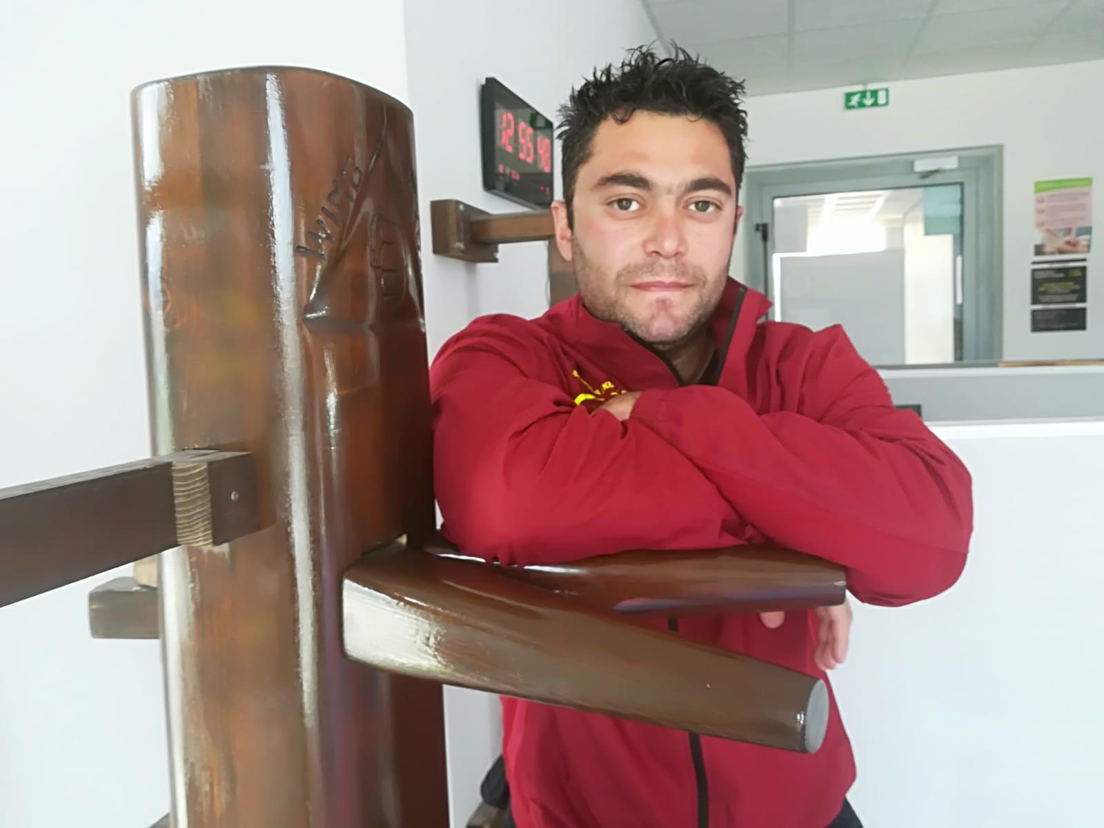 Maestro Roberto Antinelli responsabile tecnico regionale per il settore Kung Fu Wing Chun