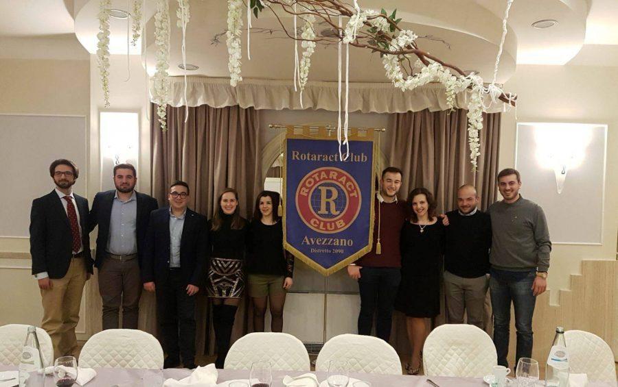 Rotaract Club Avezzano, passaggio delle Consegne