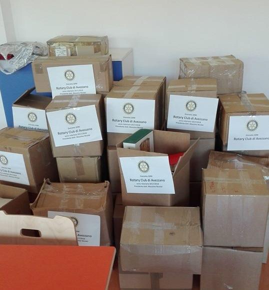 """Il Rotary Club dona libri alla biblioteca """"Falcone e Borsellino"""""""