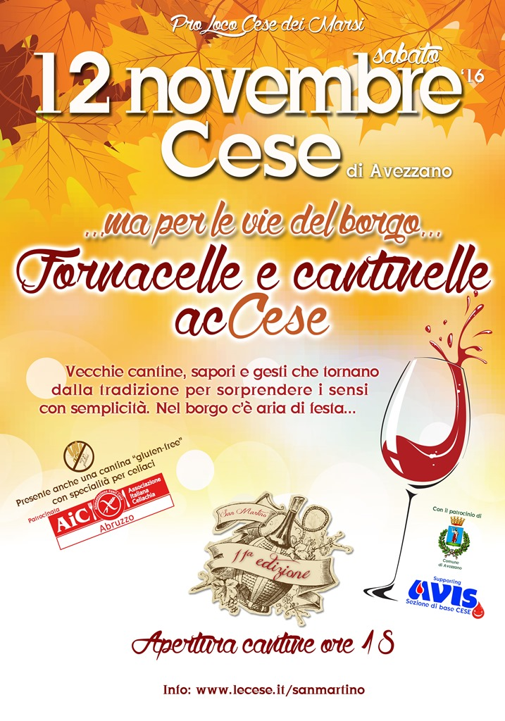 Fornacelle e cantinelle acCese