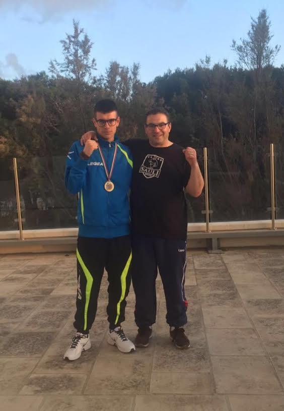 Boxe: medaglia di bronzo per Francesco De Blasis ai Campionati Italiani schoolboys-junior