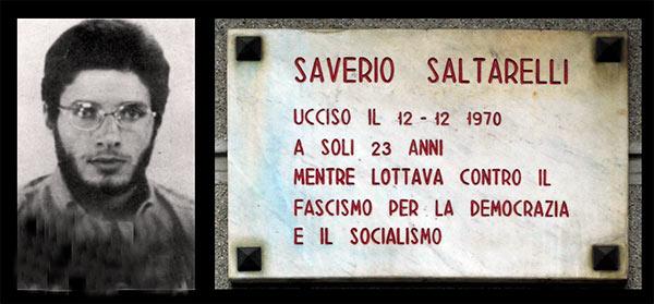 """Pescasseroli, """"Dialoghi sul '68"""" in omaggio a Saverio Saltarelli, studente abruzzese assassinato a Milano"""
