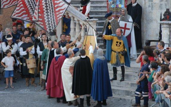 Corteo Storico Medioevale a Scurcola