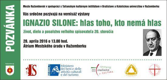 A Ruzomberok una mostra su Ignazio Silone