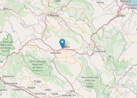 Marsica, registrate quattro lievi scosse di terremoto