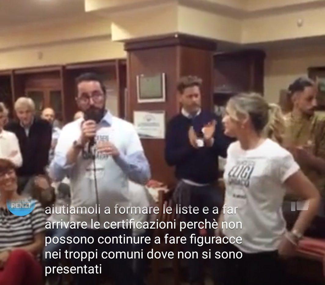 """Smargiassi show in pizzeria contro il presidente del consiglio regionale. Il Partito Democratico: """"Vergognati"""""""