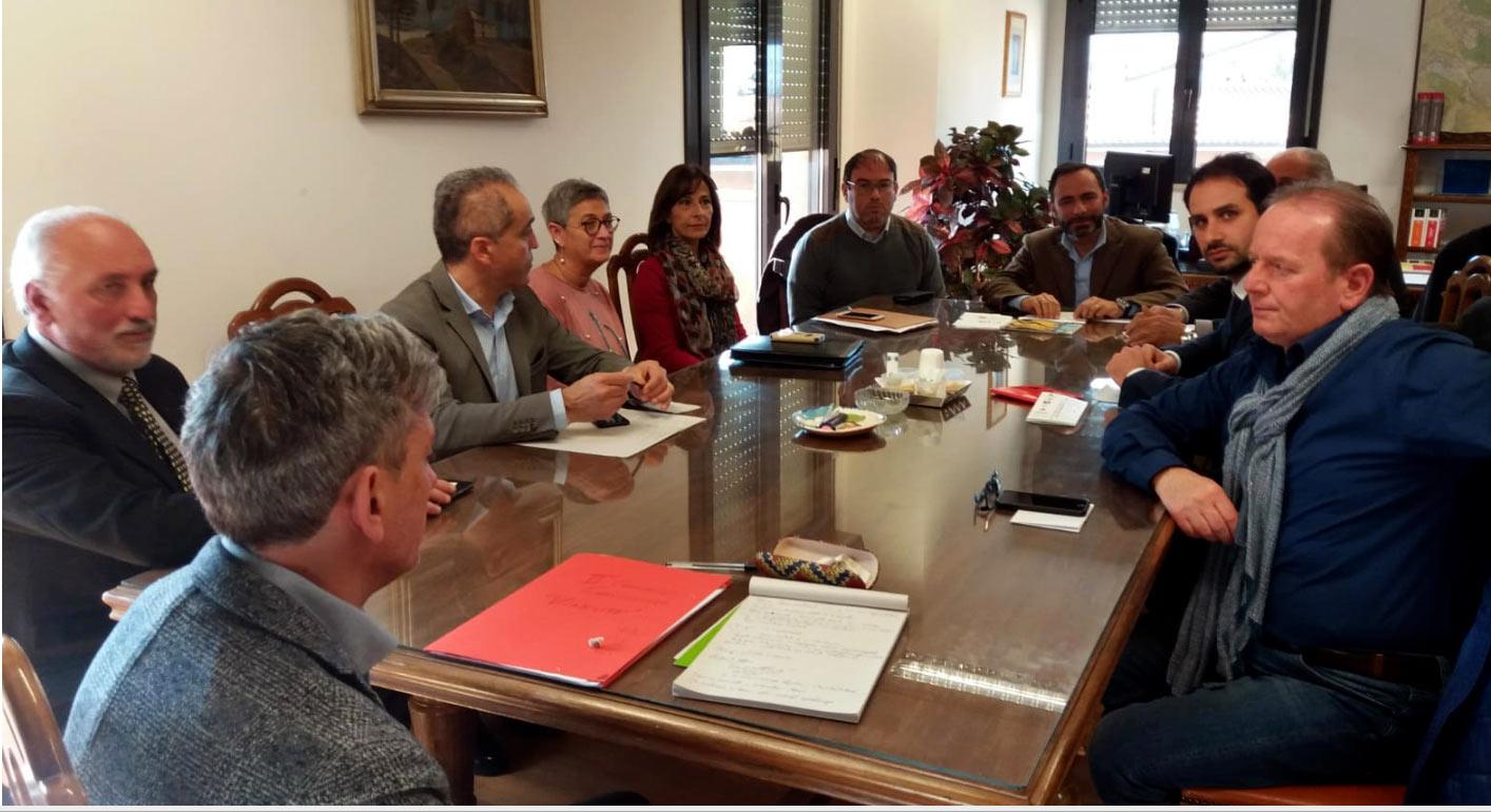 """I sindaci della Marsica in Commissione viabilità per la Strada Provinciale 125 """"di Antrosano"""""""