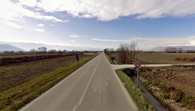 Completamento dei lavori di messa in sicurezza della S.P. N. 20 Marruviana, tratto San Benedetto dei Marsi-Borgo Ottomila