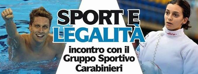 """Il Panathlon presenta """"Sport e Legalità"""", ad Avezzano arriva il prestigioso Gruppo Sportivo dei Carabinieri"""