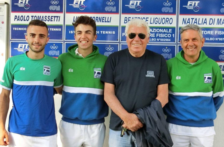 Inizio vincente per l'Avezzano Tennis Team, finisce 3-1 nel derby contro l'Aquila