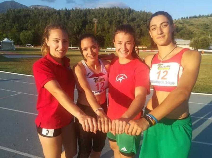 La Marsicana Alessia Lilli vola in staffetta ai campionati italiani Assoluti di atletica leggera