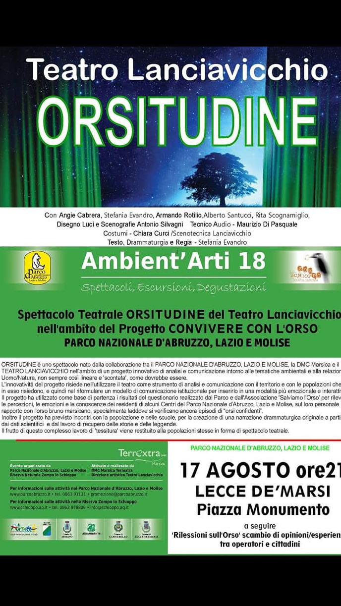Teatro Lanciavicchio. Orsitudine