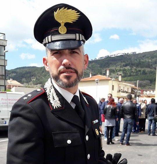 Carabinieri, Marco Mascolo promosso a grado di capitano. A fine estate andrà a comandare la compagnia di Cittaducale
