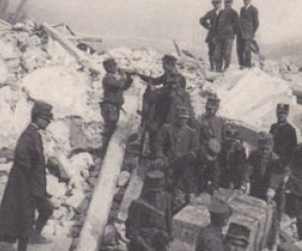 13 Gennaio 1915, ore 7.52