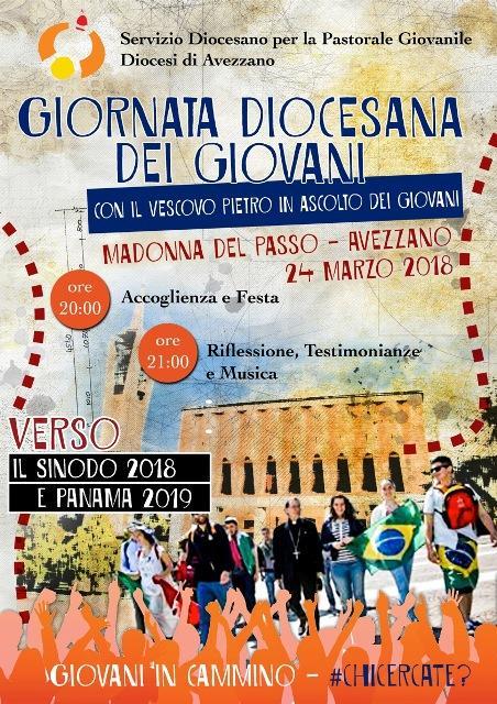 """Avezzano: """"Giornata Diocesana dei Giovani"""""""