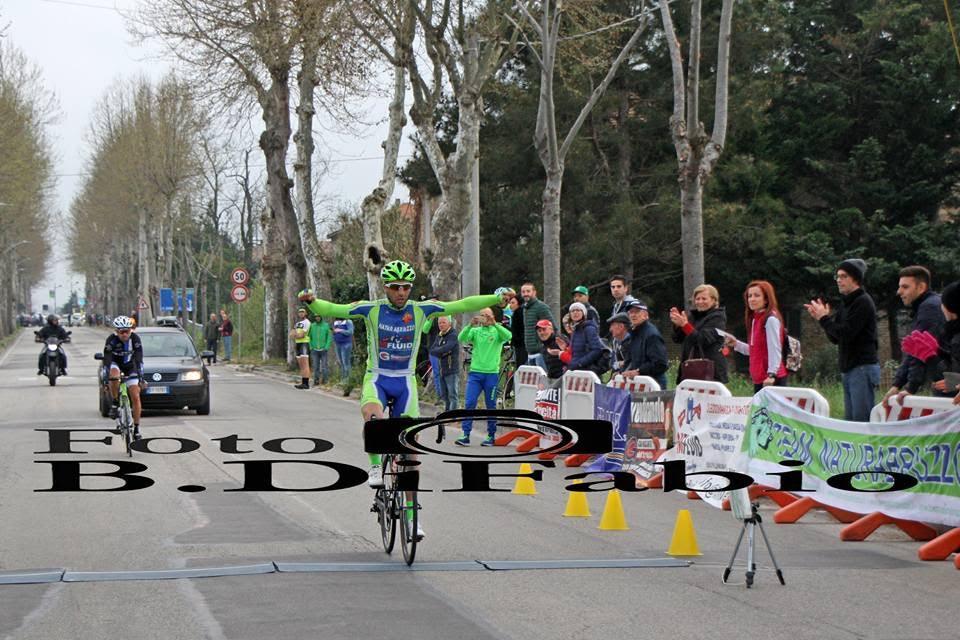 Antonello Tirabassi si impone nel trofeo autofficina Dragonara San Giovanni Teatino