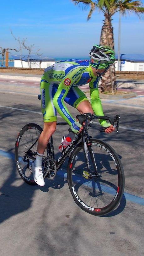 Ciclismo: altro podio per il celanese Antonello Tirabassi