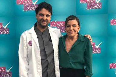 Abruzzese con una malattia rarissima la nuova protagonista del tutorial di detto fatto del chirurgo marsicano Tito Marianetti